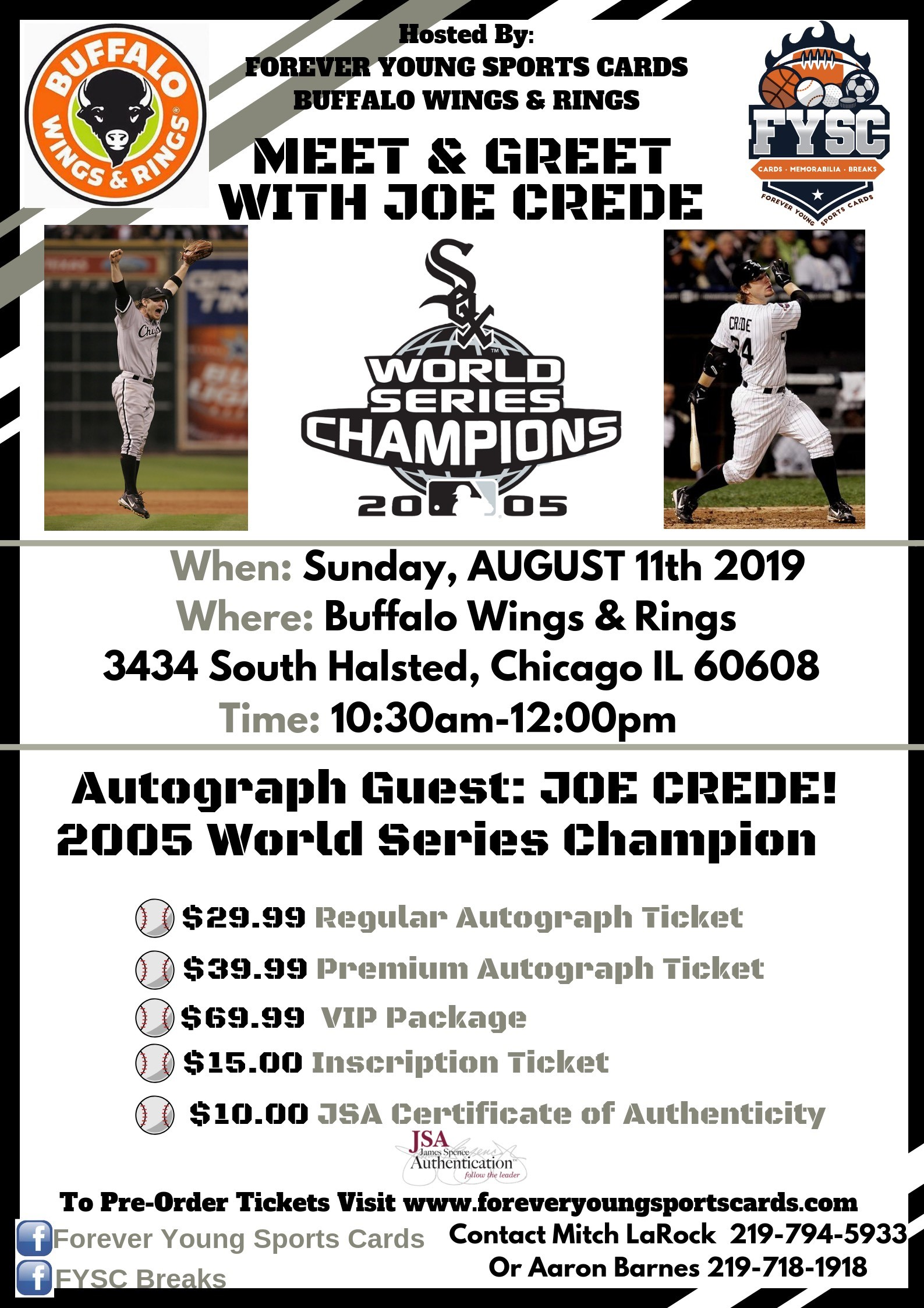 Joe Crede Chicago White Sox Great Crave The Auto