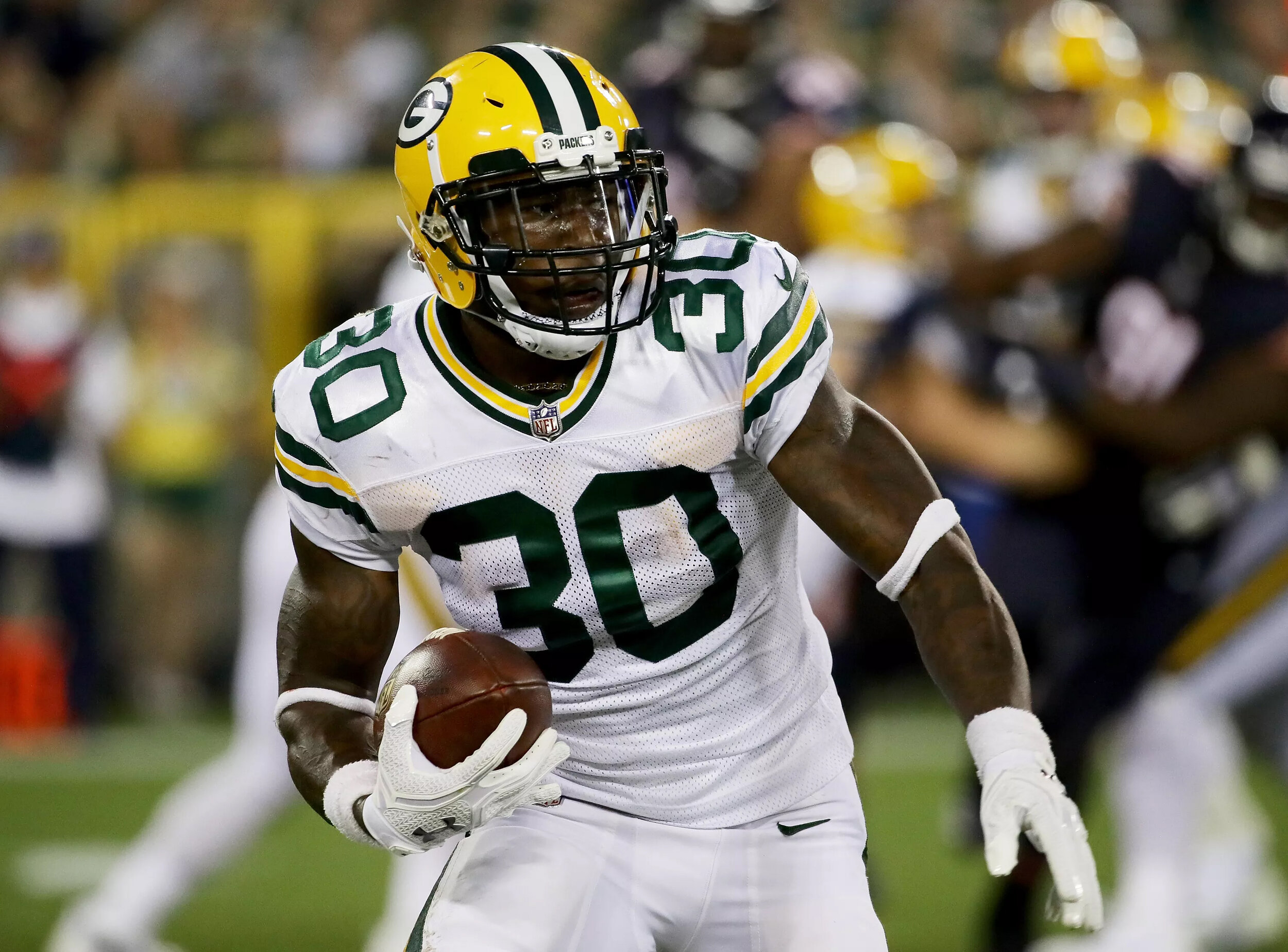 best sneakers 8c1c6 cb78e JAMAAL WILLIAMS & KENNY CLARK Green Bay Packers — Crave the Auto