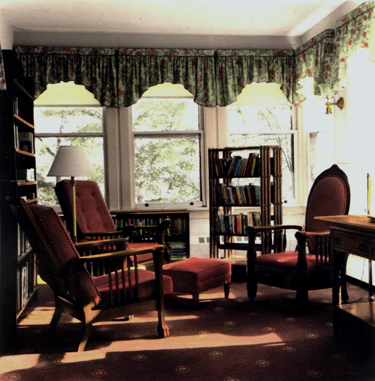 Library at Mohonk