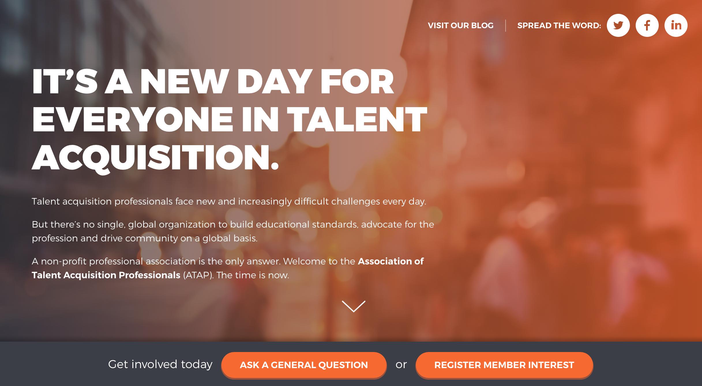 Association of Talent Acquisition Professionals