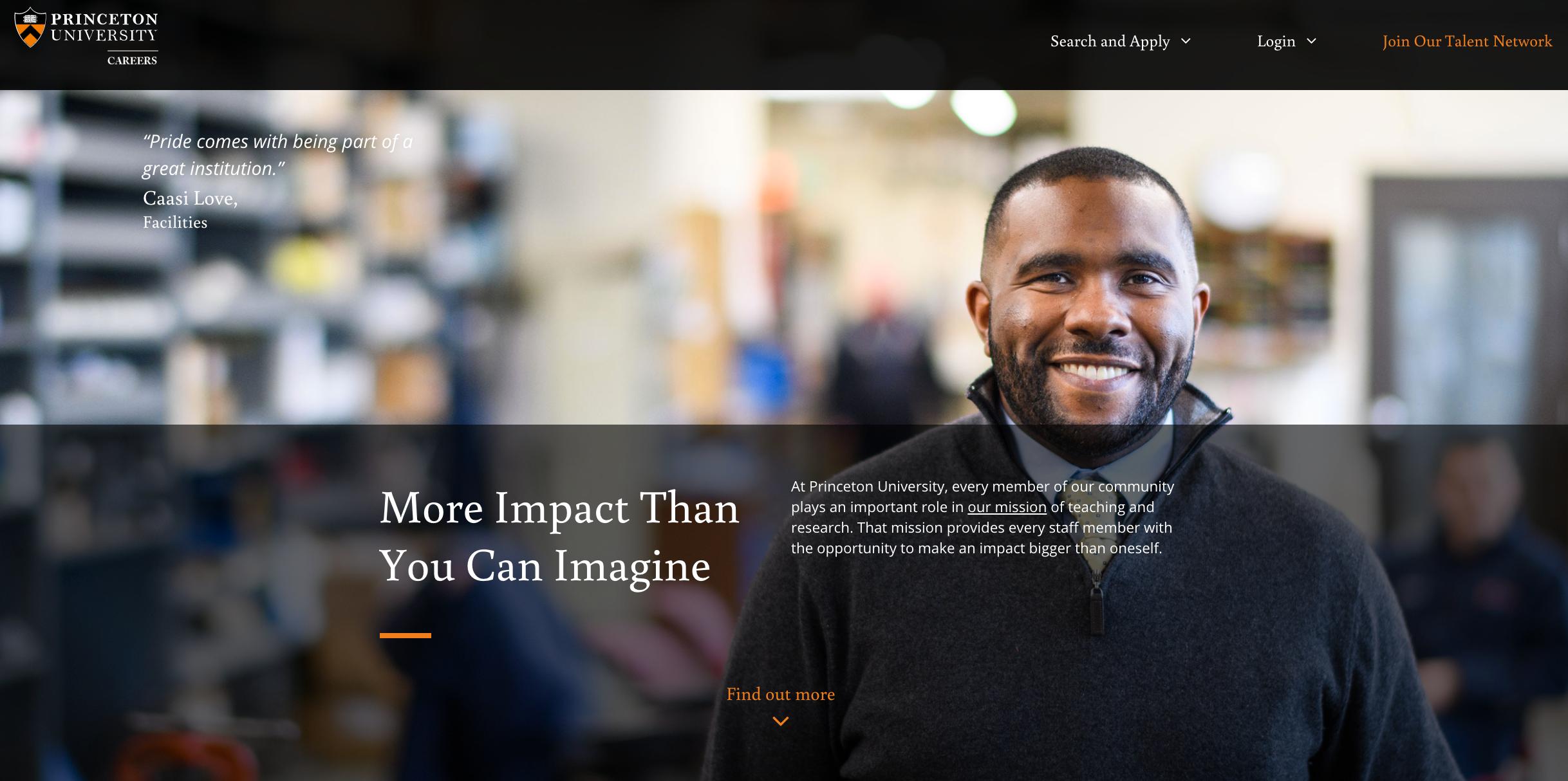 Princeton University Careers