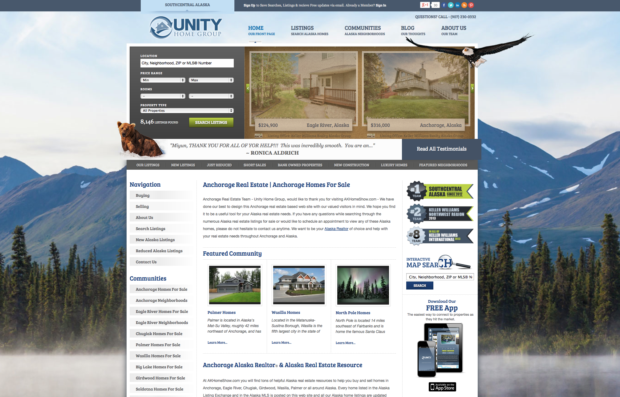 Unity Home Groups Website