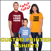 Discount custom printed t-shirts