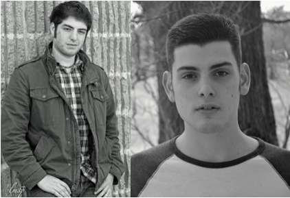 Jared Grossman (left) and Jonathan Heller (Right) both play Mark Cohen