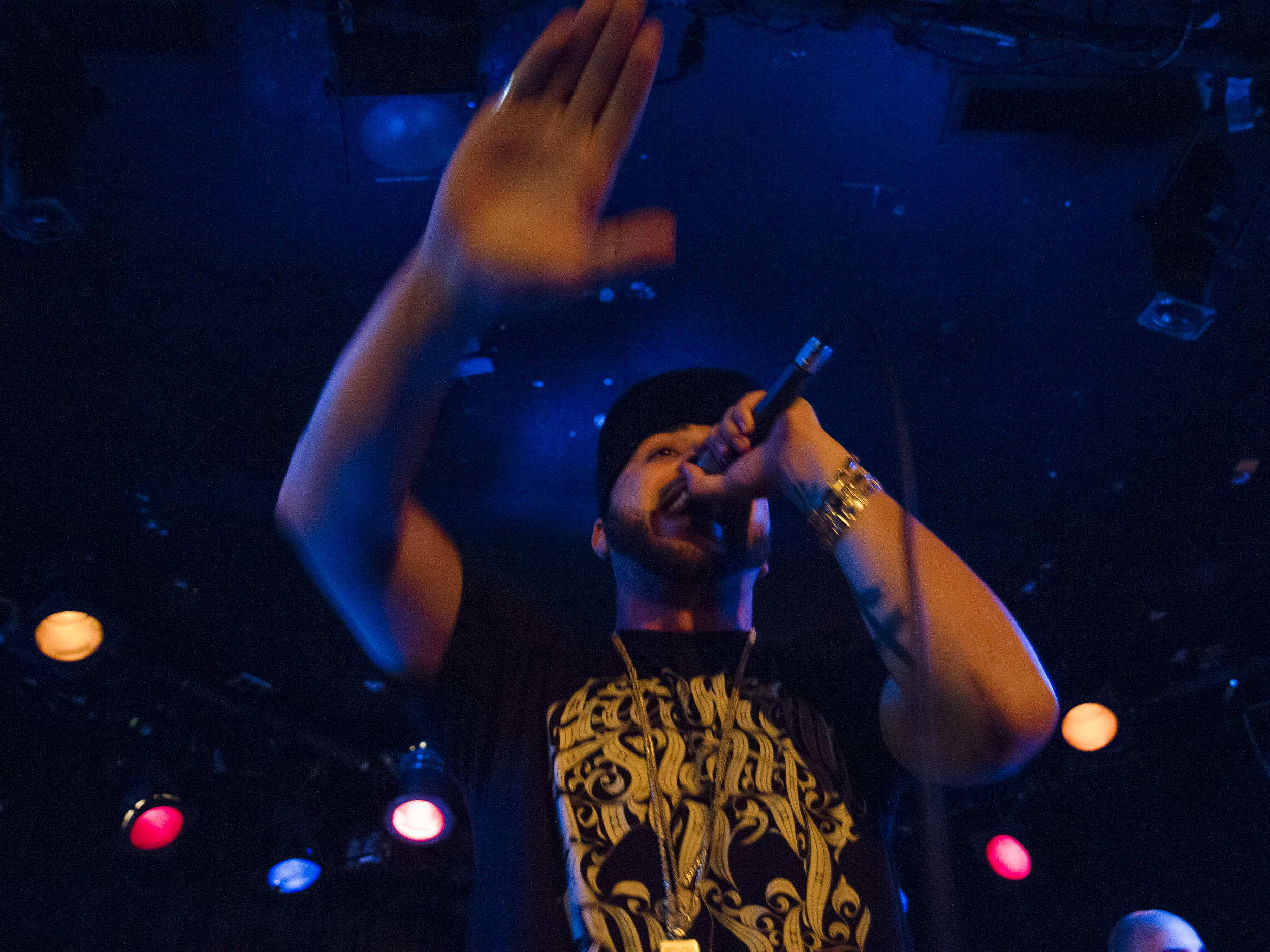 R-Mean performs at the Viper Room, Hollywood, CA 2015