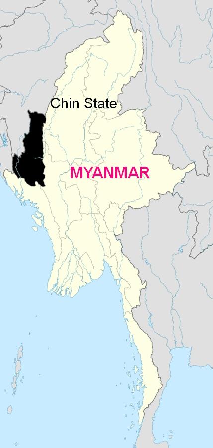 Chin state, Myanmar (Burma). Photo: Wikimedia Commons.