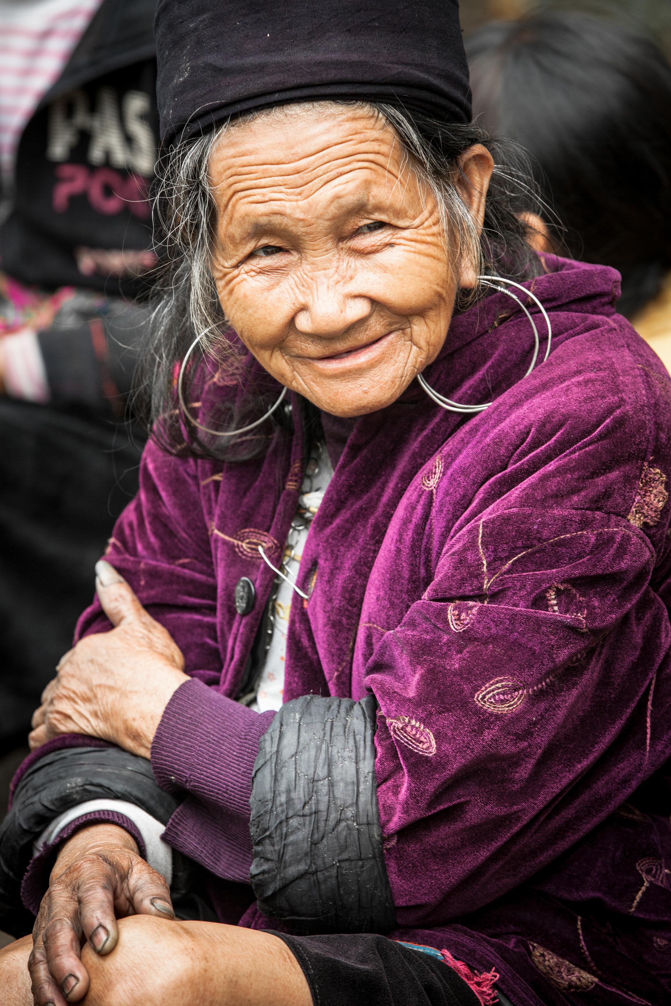 Photo: Black Hmong Woman in Vietnam © Eermakova   Dreamstime.com