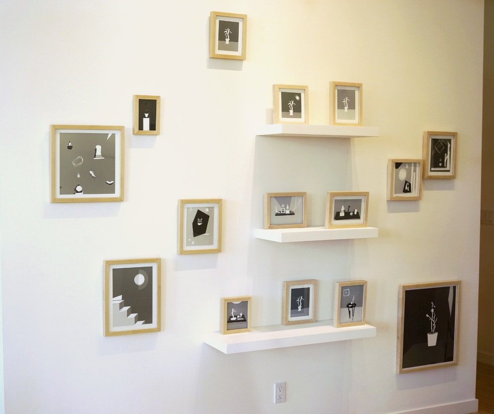 """Installation view of """"BUILD"""""""