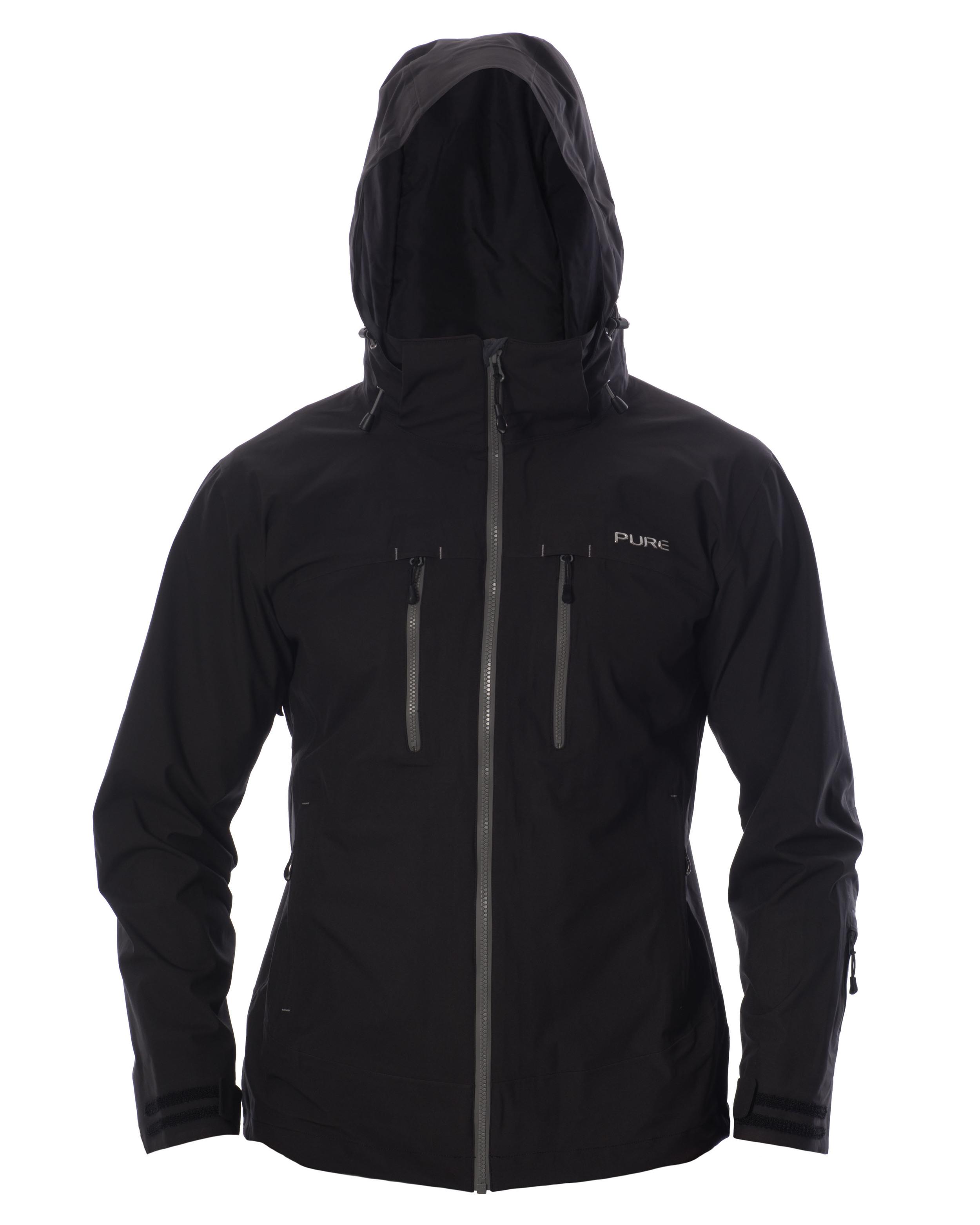 Copy of Everest Men's Jacket - Black / Ebony Zips