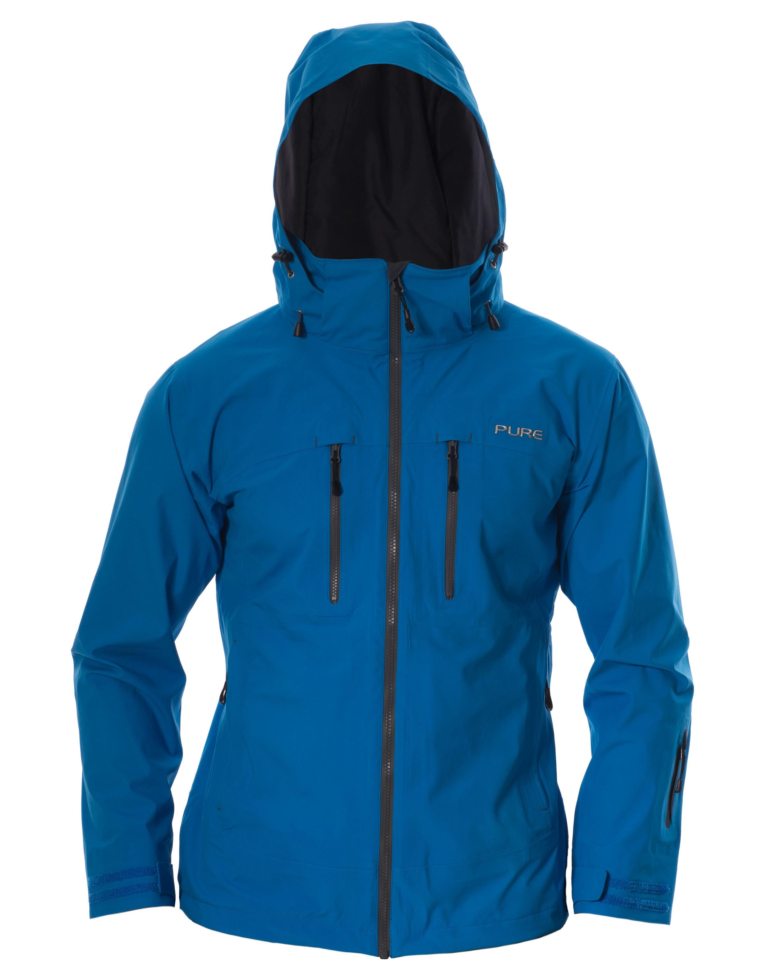 Copy of Everest Men's Jacket - Notice / Ebony Zips