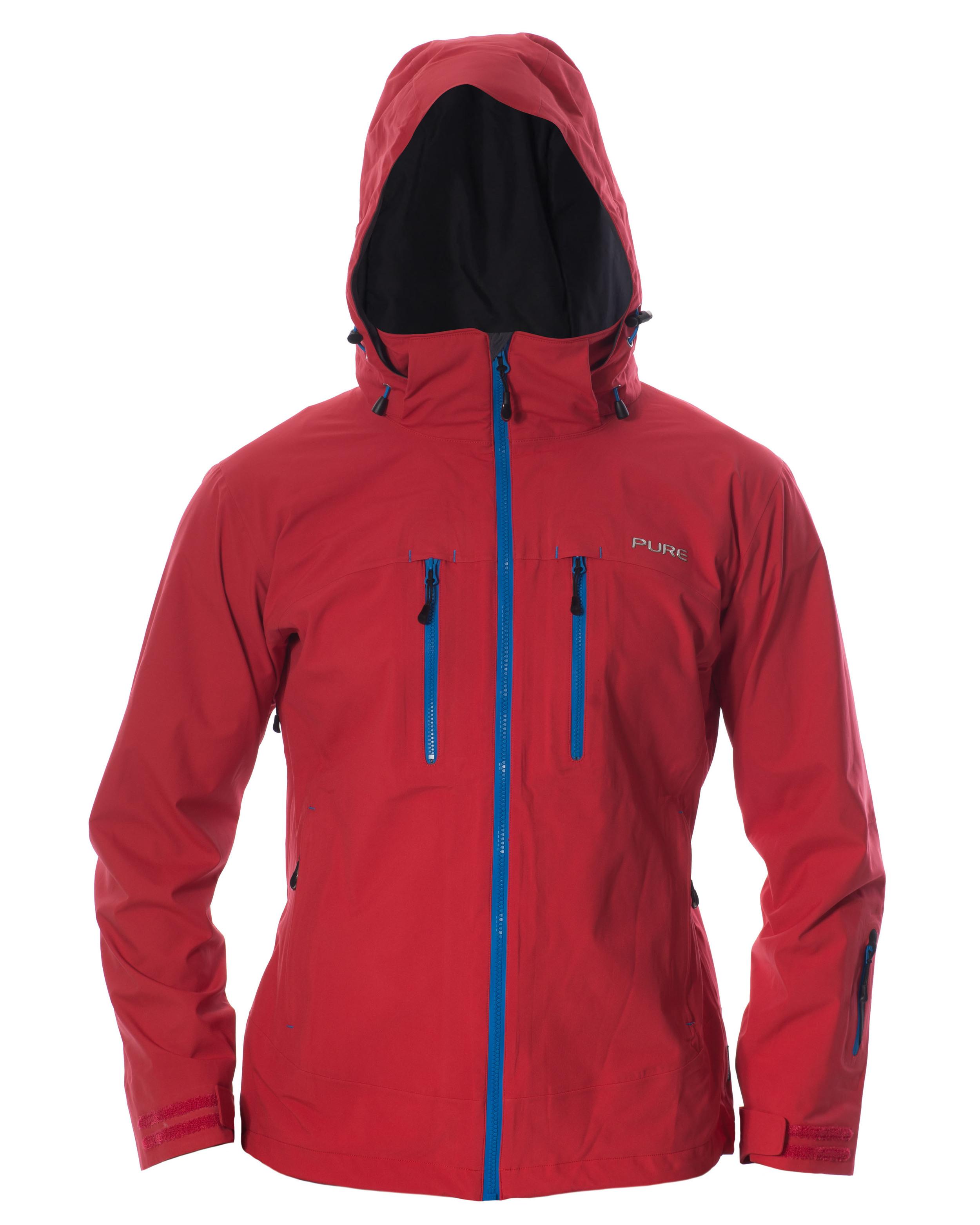 Copy of Everest Men's Jacket - Red / Notice Zips