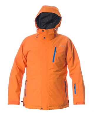 Telluride Men's Jacket - Orange / Notice Zips