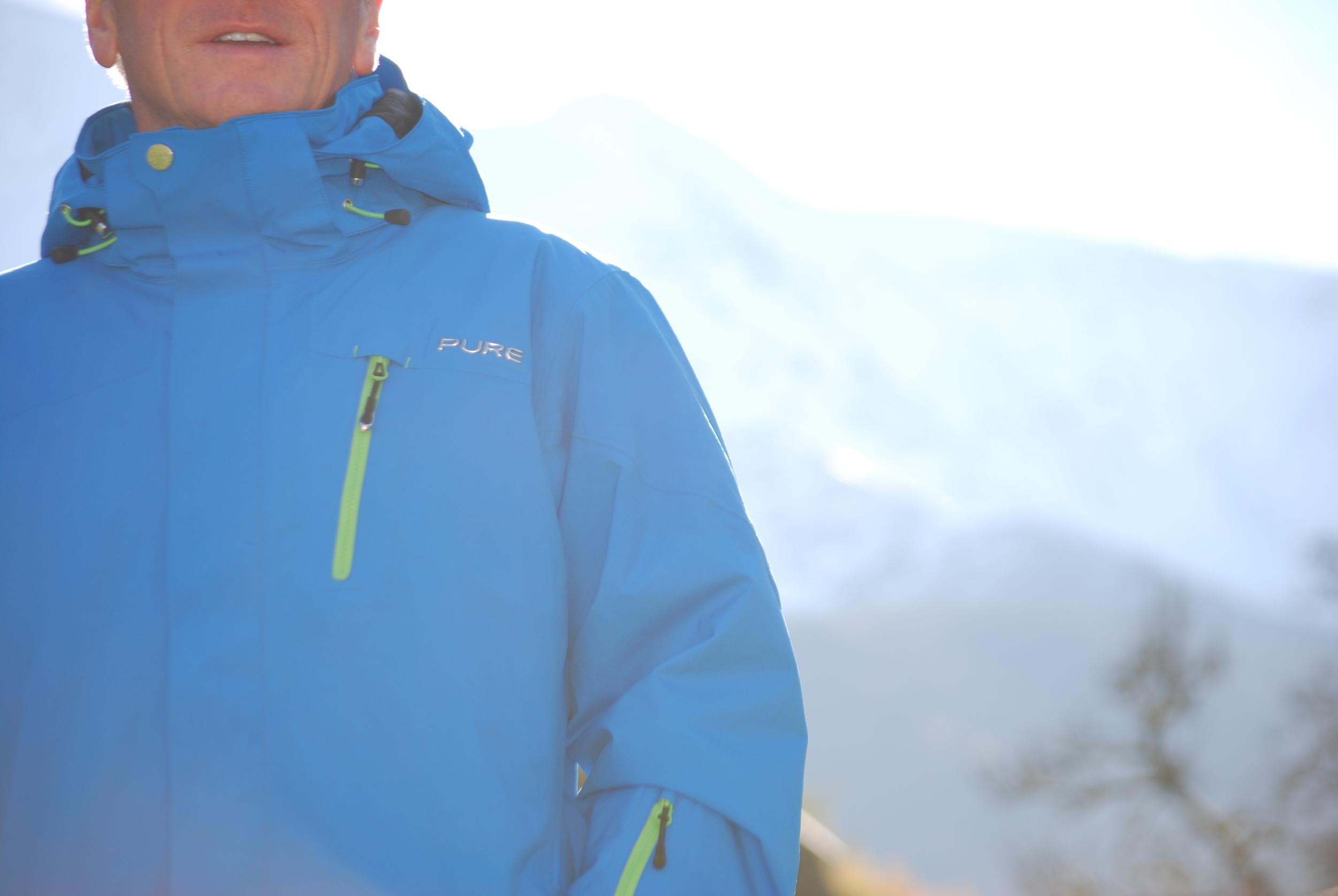 Telluride Men's Pure Snow in action