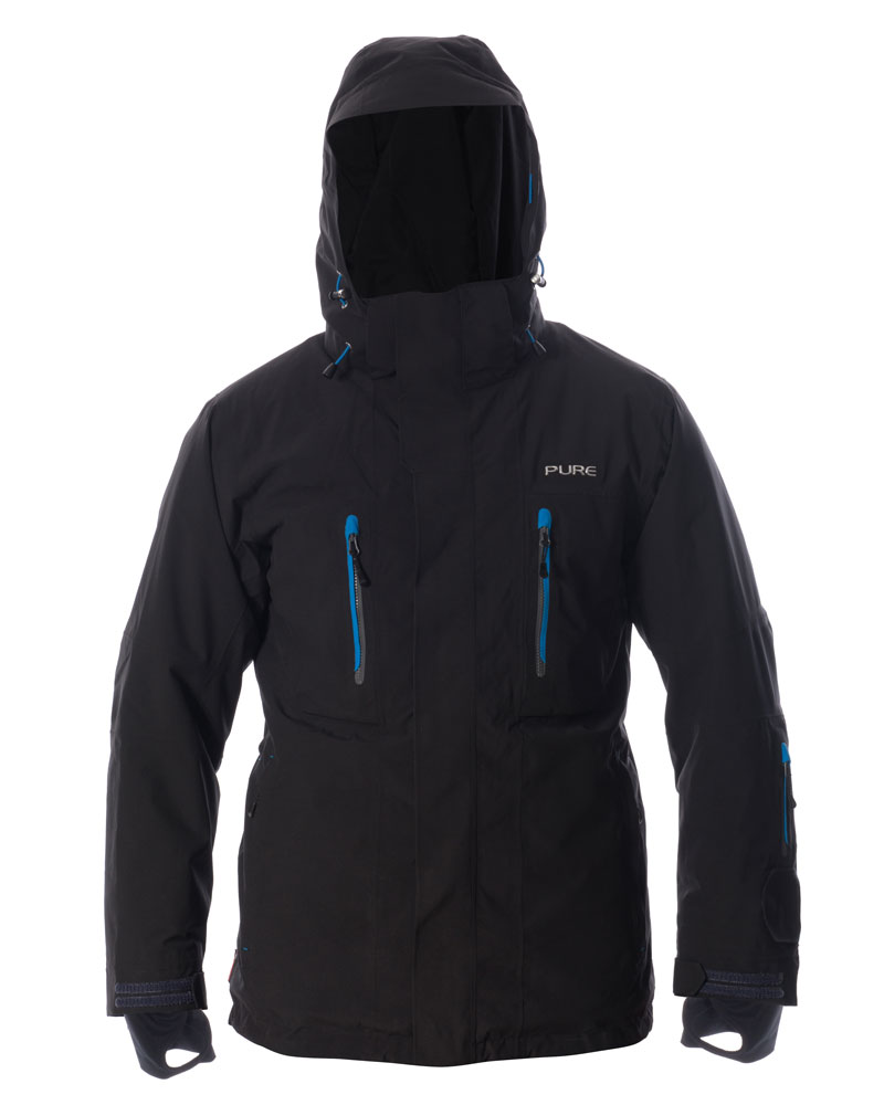 Niseko Men's Pure Snow - Black