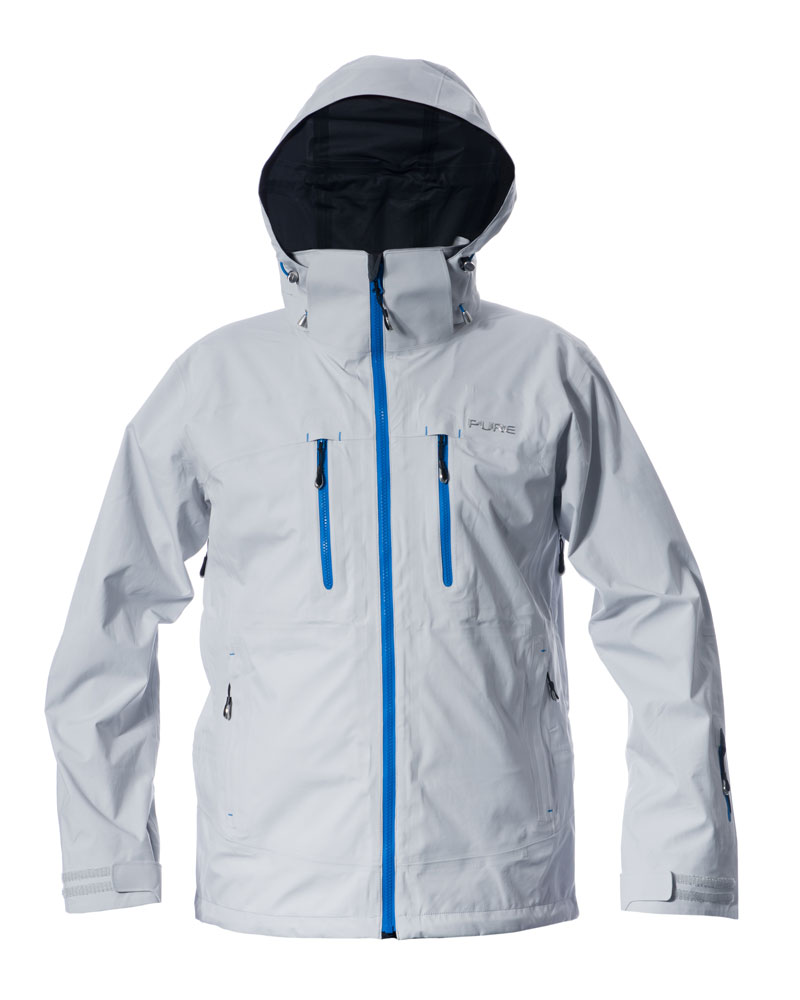 Everest Men's Jacket - Silver / Notice Zips