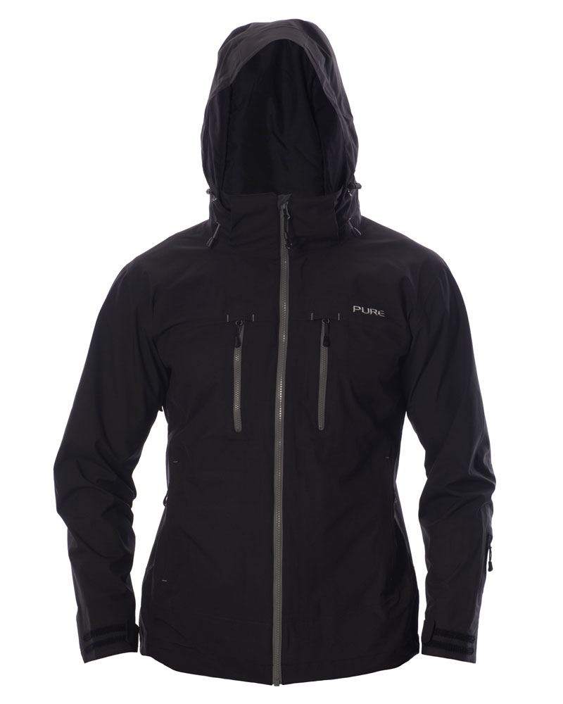 Everest Men's Jacket - Black / Ebony Zips