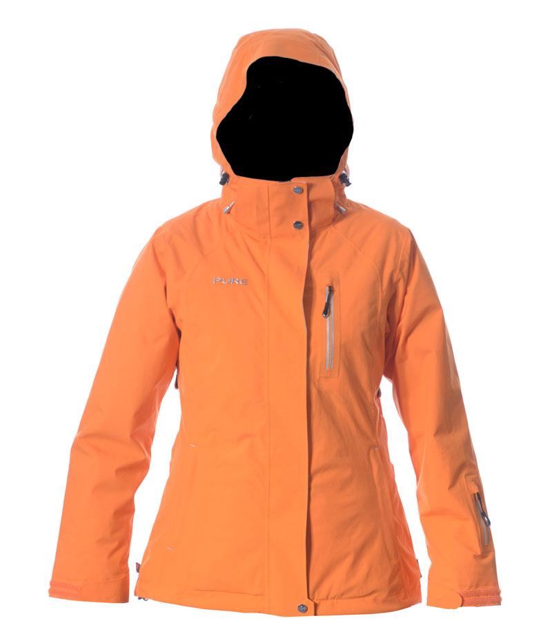 Chamonix Women's Jacket - Orange