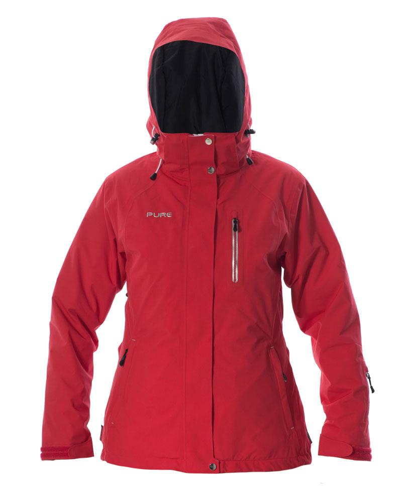 Chamonix Women's Jacket - Red
