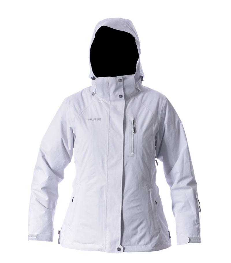Chamonix Women's Jacket - Silver
