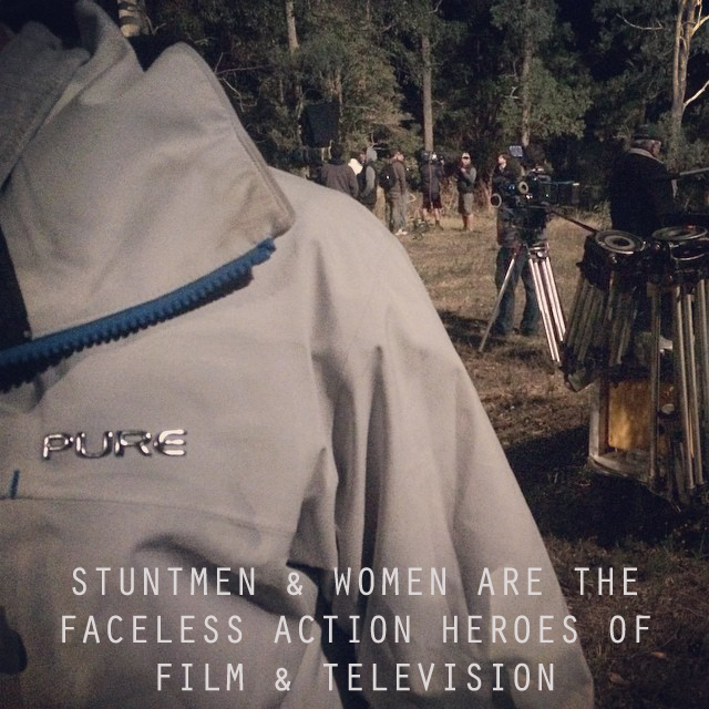 Pure Brandz' salute to stuntmen and women around the world