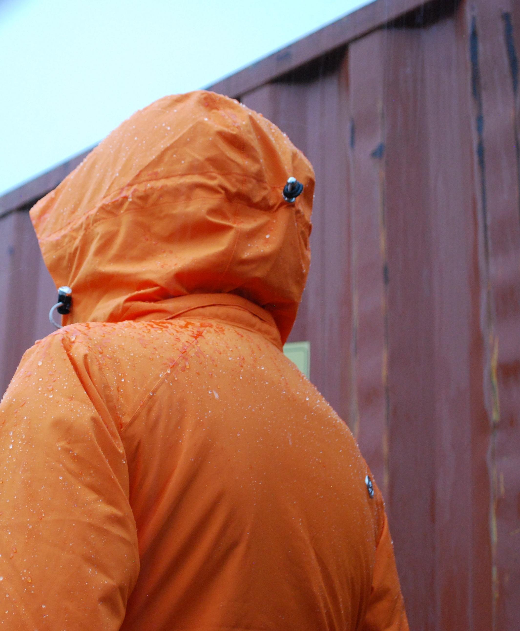 pure brandz waterproof jacket