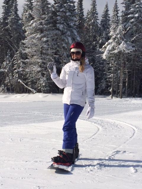 Amber Wyatt - Le Massif, Quebec, 2015