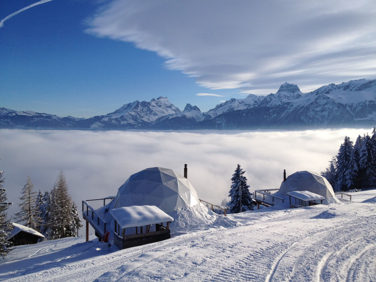 Pure Snow Top 10 Most Amazing Places To Stay In The Snow - Whitepod 4.jpg