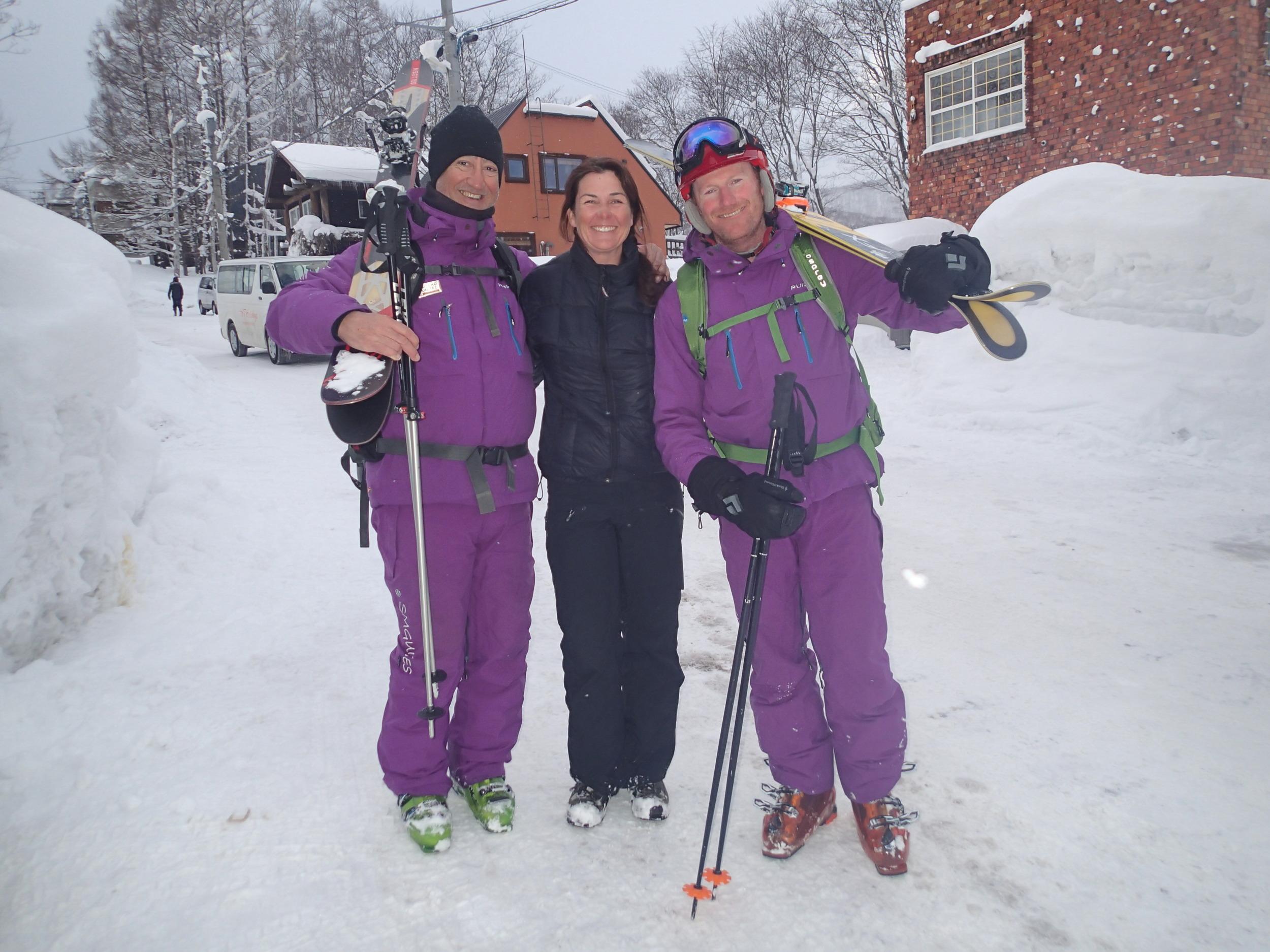 Pure Snow uniform Shinsetsu Mountain Guides.JPG