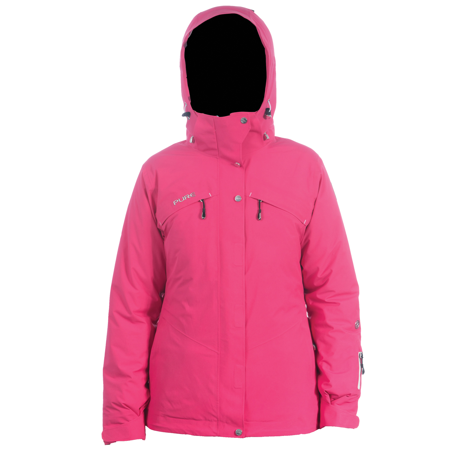 Meribel Jacket - Raspberry