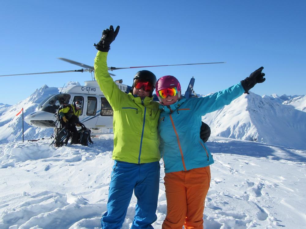 pure brandz powderhounds skiing northern escape heli skiing 2