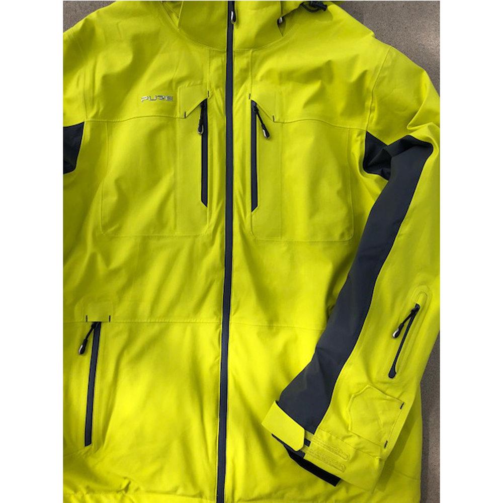 Pure Snow Hokkaido Jacket - Sulphur/Ebony