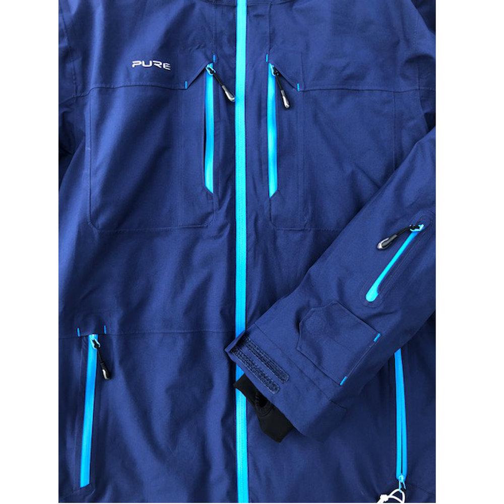 Pure Snow Sapporo Jacket - Navy