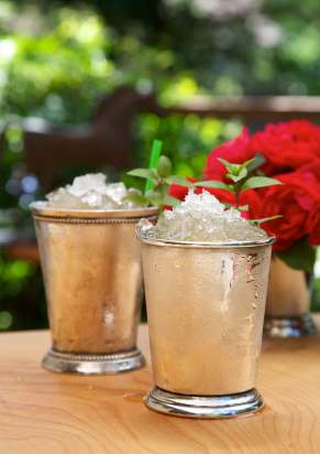 A silver or pewter Mint Julep cup does make this cocktail more authentic and yes, even more delicious.