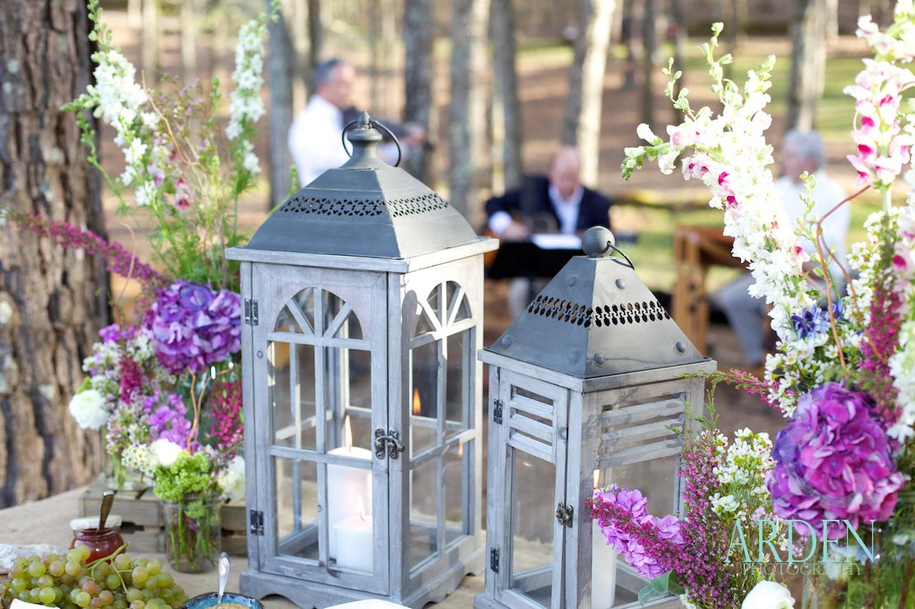 Wedding in a Week Rustic decor Martie Duncan