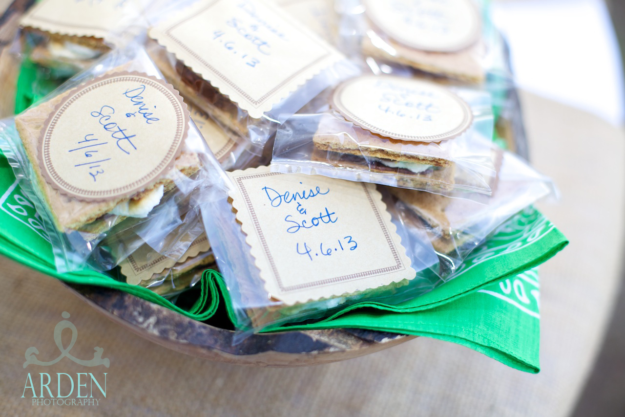 Wedding in a Week Take Home S'mores Favors Martie Duncan