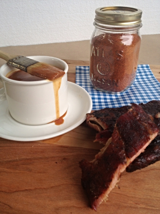 MARTIE'S SPICY BBQ RIB RUB IS GREAT FOR RIBS BUT ALSO CHICKEN AND OTHER CUTS OF PORK
