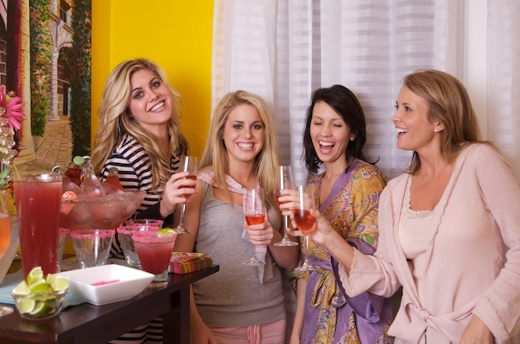 HOST A GIRLS NIGHT IN PAJAMA PARTY FULL OF GUILTY PLEASURE FUN WITH FAVORITE MOVIES, JUNK FOOD, CANDY, AND COCKTAILS ON THE MENU!