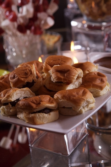 SLIDERS ARE SIMPLE TO MAKE OR YOU CAN GET THEM FROM YOUR FAVORITE RESTAURANT.