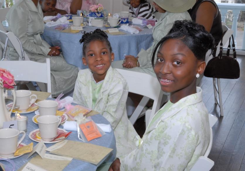 Mother Daughter Tea Party Theme Martie Duncan 3