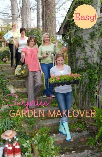 Gardening Party Garden make over party Martie Duncan