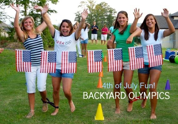 Patriotic party plan backyard olympics Martie Duncan