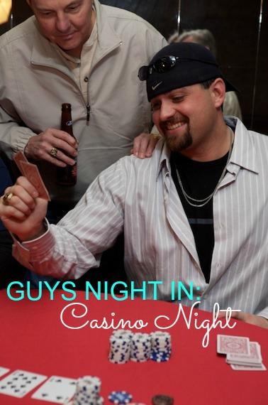 Plan a Card Shark casino night party Martie Duncan