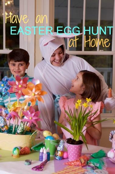 Plan an Easter Egg hunt at home Martie Duncan