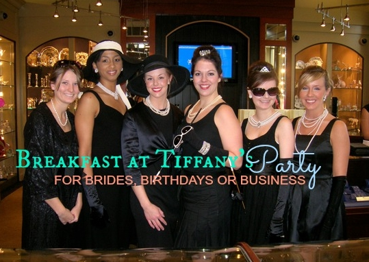 Plan a Breakfast at Tiffany Party Martie Duncan