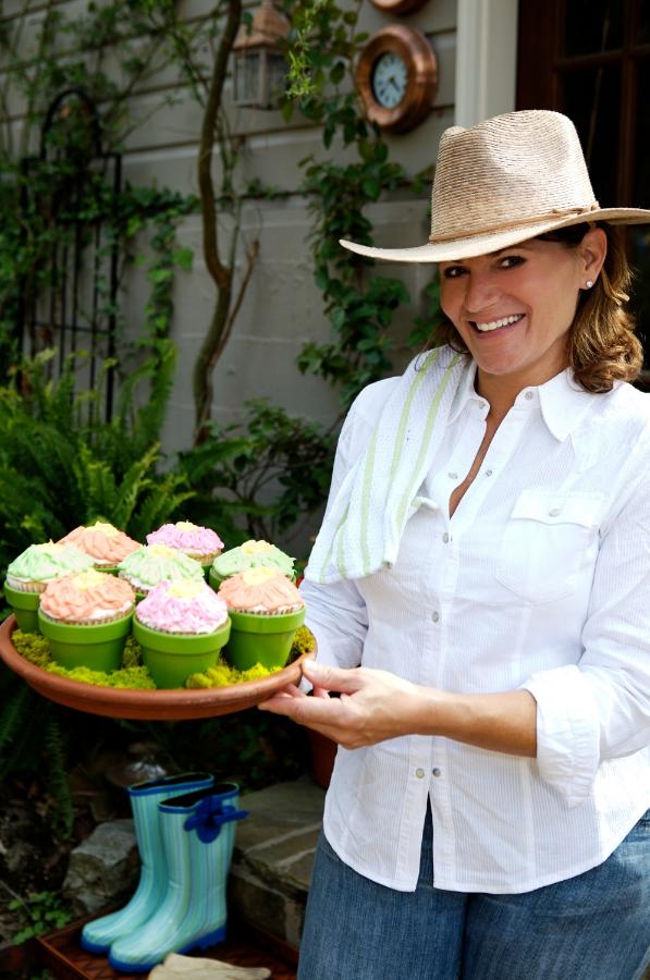 Martie Duncan hosting a garden makeover