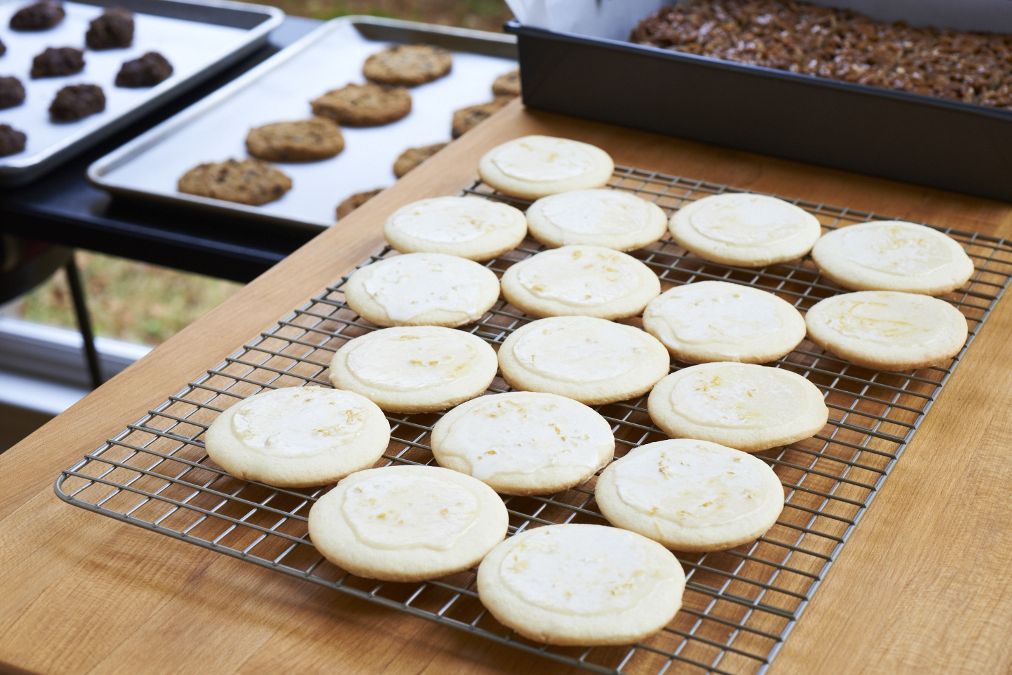 Bake plenty of plain cookies for the kids to decorate before party time.