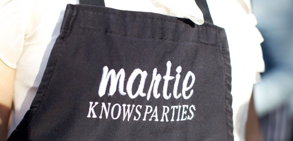 party planning advice Martie Duncan