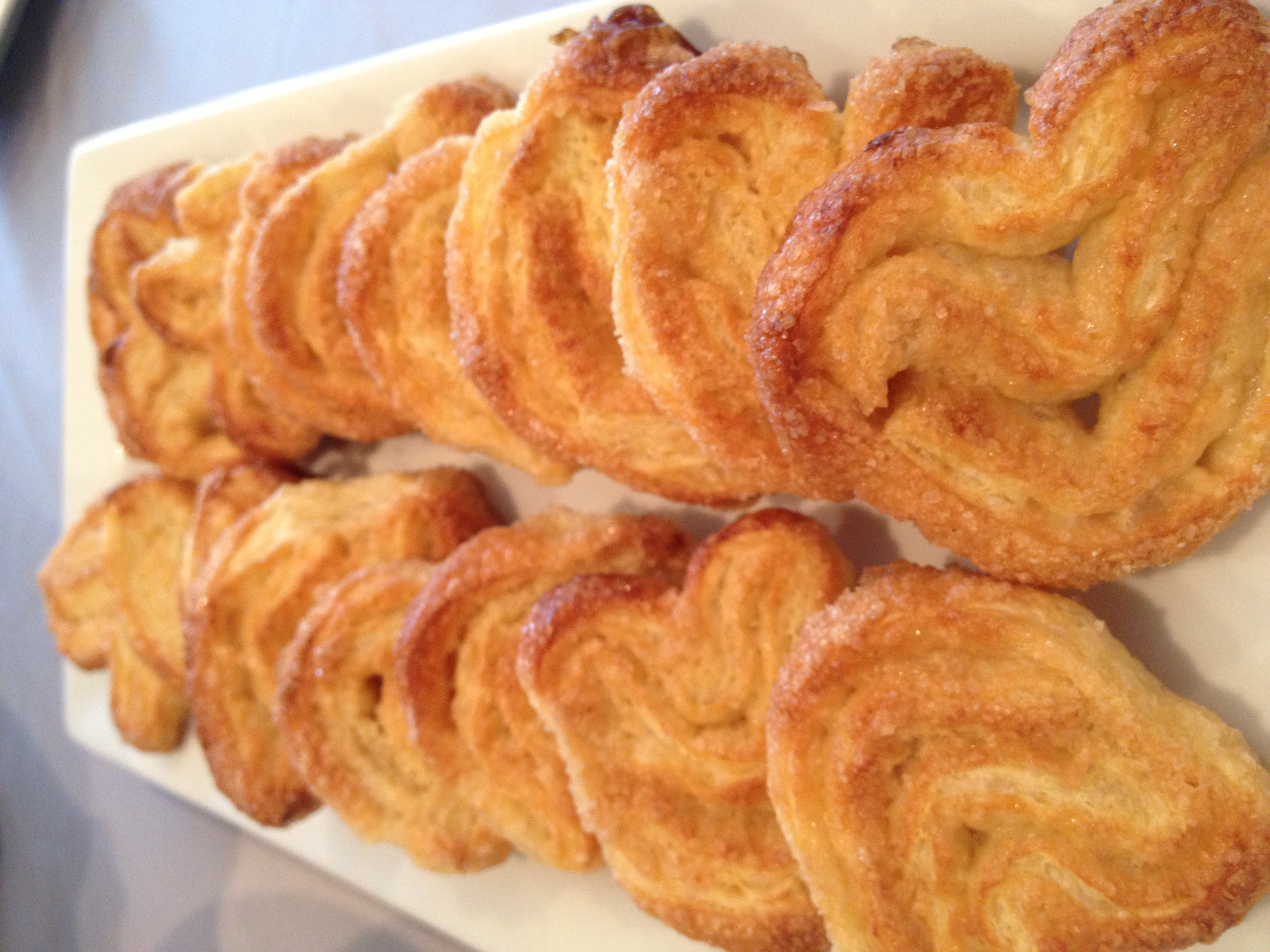 Martie Duncan puff pastry Palmiers