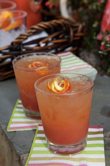 A two-bubble cocktail: The Double Bubble. Use chilled Prosecco and chilled Italian Sparkling Soda.