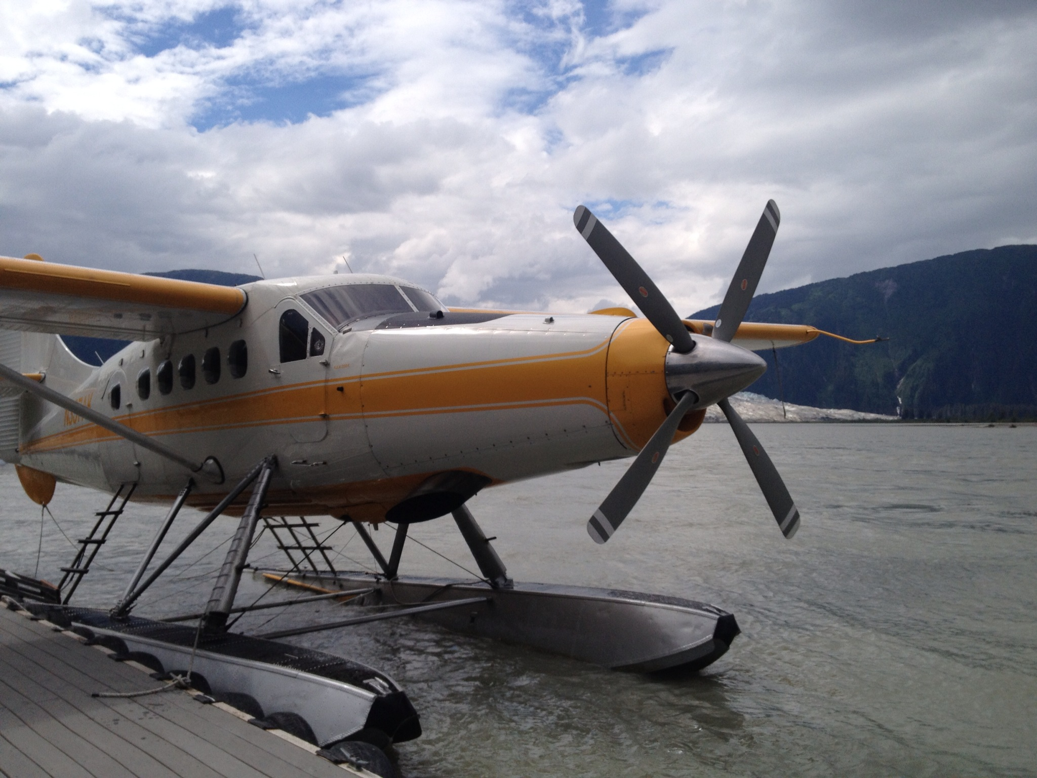 A seaplane trip out to Taku Glacier Lodge was one of my favorite outings from Juneau.